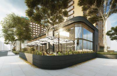 Nobu Portman Square architect's impression