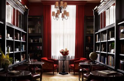 NoMad Hotel library room