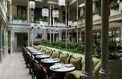 Inside the NoMad Hotel Garden Bar