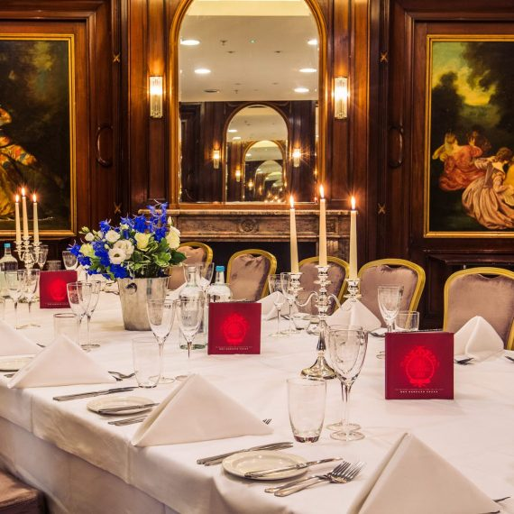 Private dining at its best