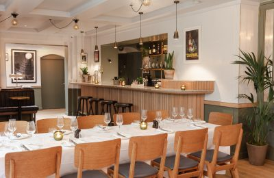Perfect for private dining or corporate dinners